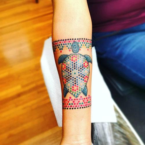 arte huichol tatuaje