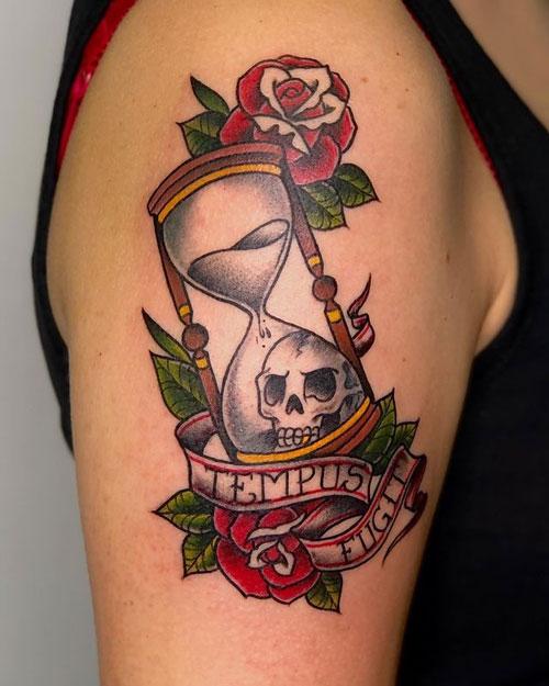 el tiempo se escapa tatuaje