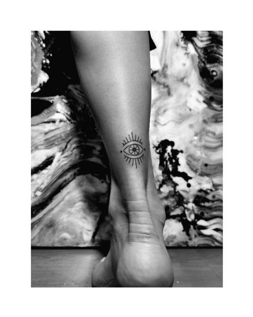 ojo de dios tattoo