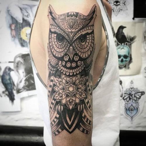 black work tatuaje