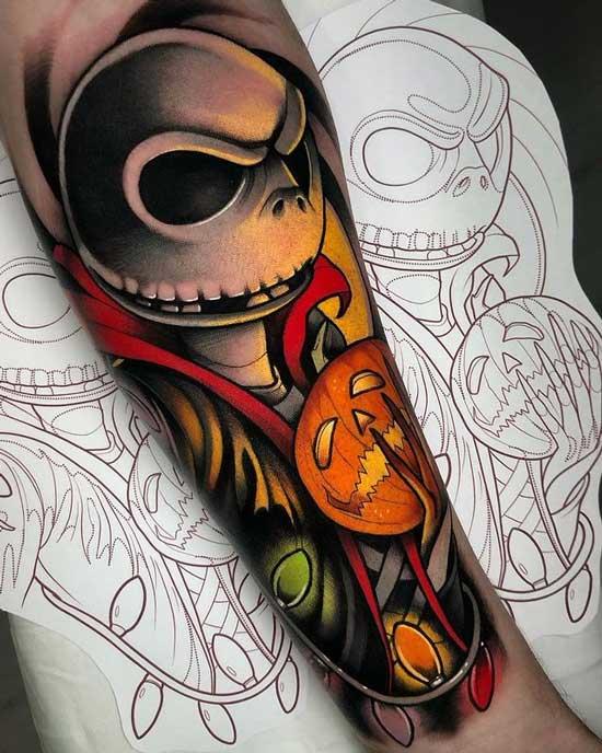 el extaño mundo de jack tattoo