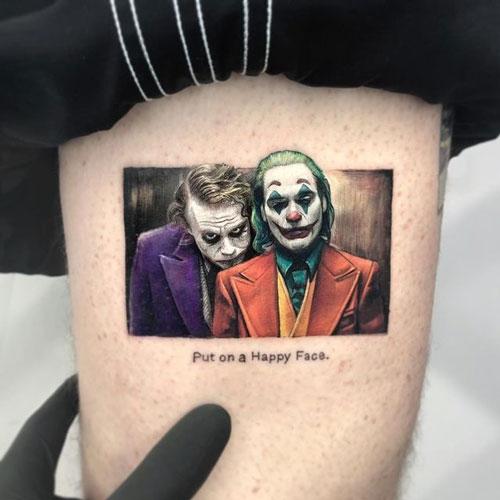 jokers tatuajes