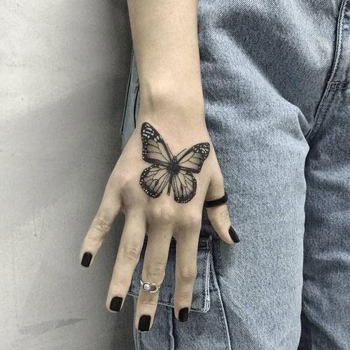 mariposa tatuajes