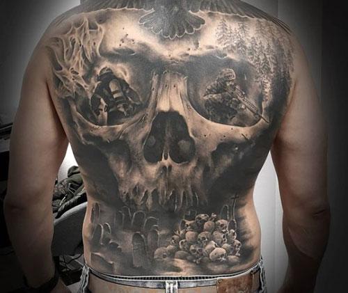tatuaje de calavera