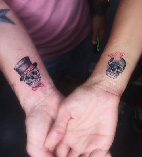 tatuaje de novios