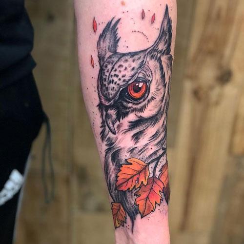 tattoos buhos