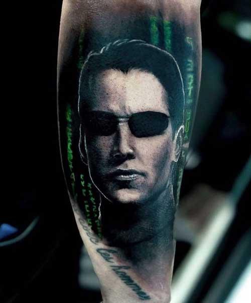 tattoo neo matrix