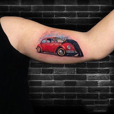 tattoo de un vw