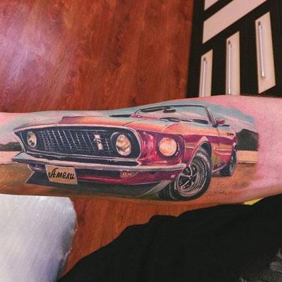 tattoo mustang
