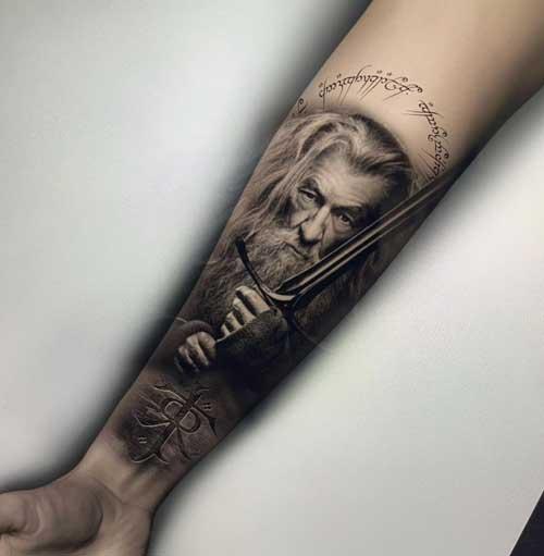 tattoo el señor de los Anillos