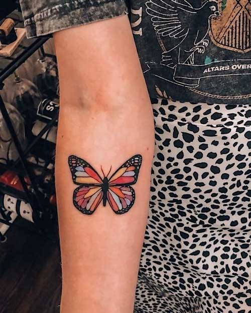 tatu mariposa