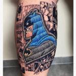 patch tattoo batman