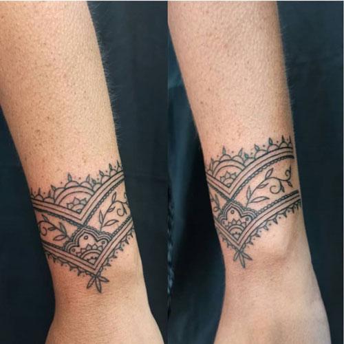pulsera mandala tattoo