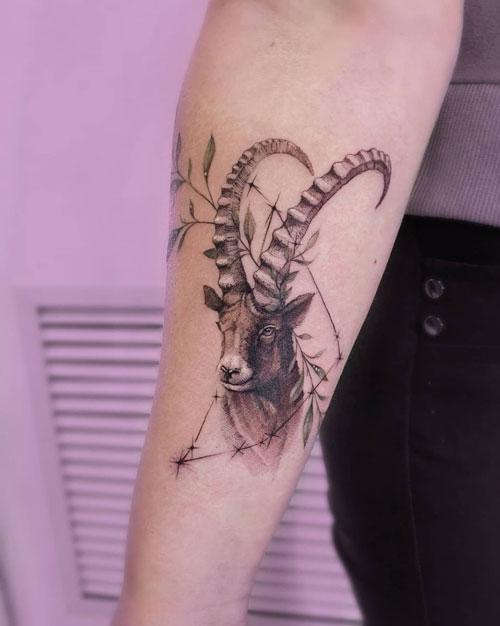 tatuaje de capricornio