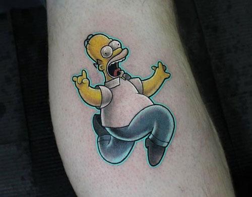 Tatuajes de caricaturas
