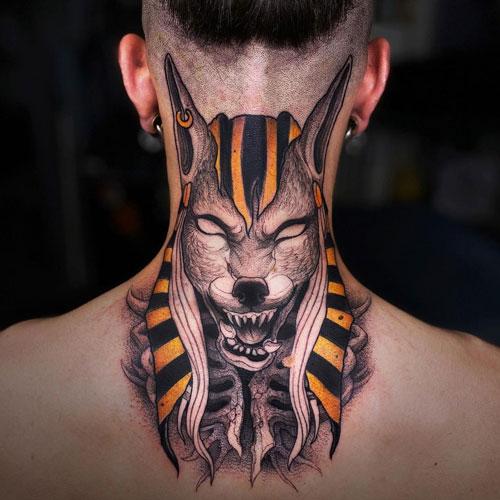 tatuajes de dios egipcio