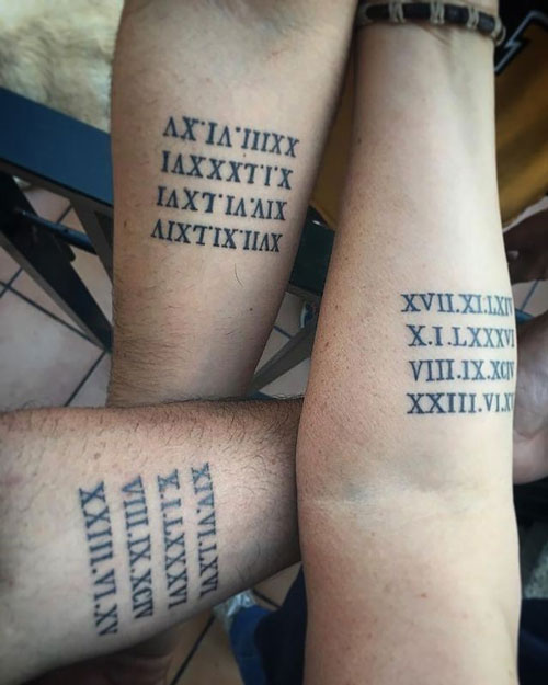 tatuaje en grupo