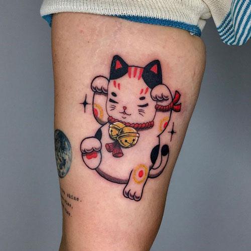 tattoo Maneki neko