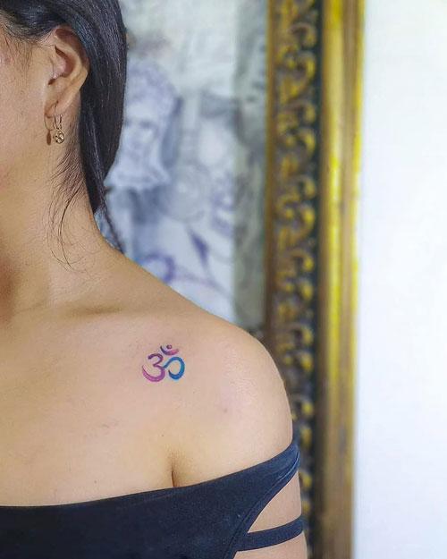 tatuaje del signo om