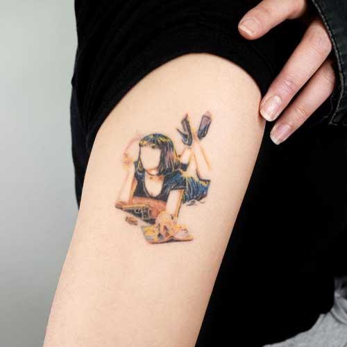 tatuaje Pulp Fiction
