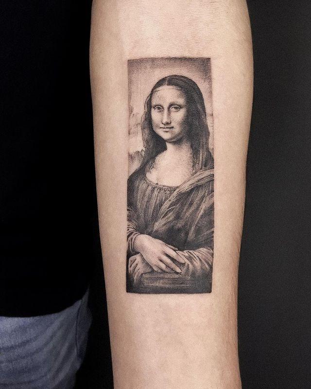 Gioconda tatuaje