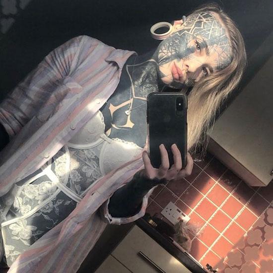 Nadine Anderson tatuajes