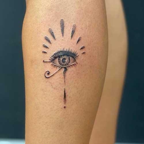 Ojo de RA tattoo