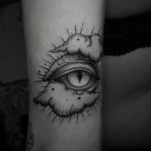 tatuaje del ojo de la providencia