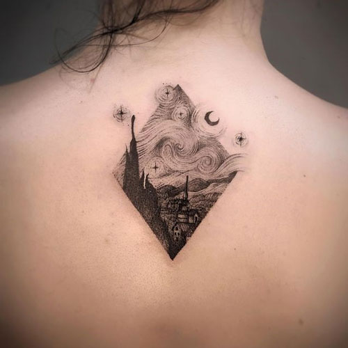 Tatuajes de Pinturas y Obras de Arte