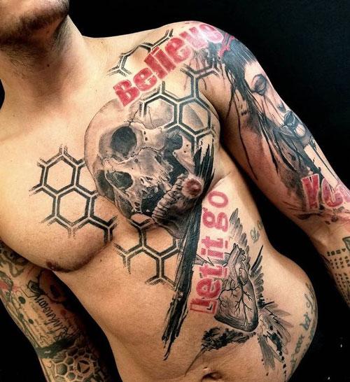 Tatuajes de Trash Polka