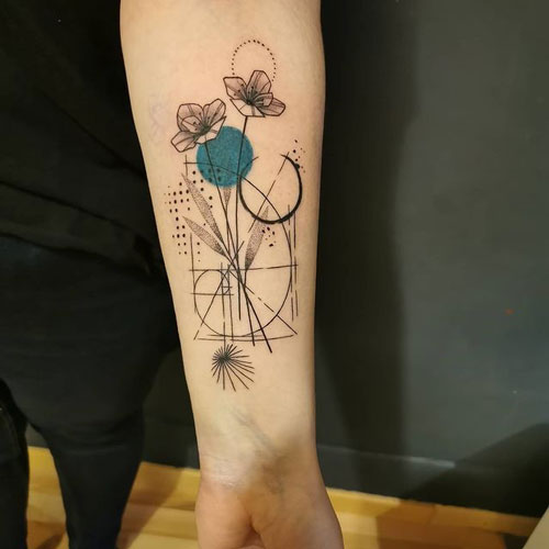abstracto tattoo