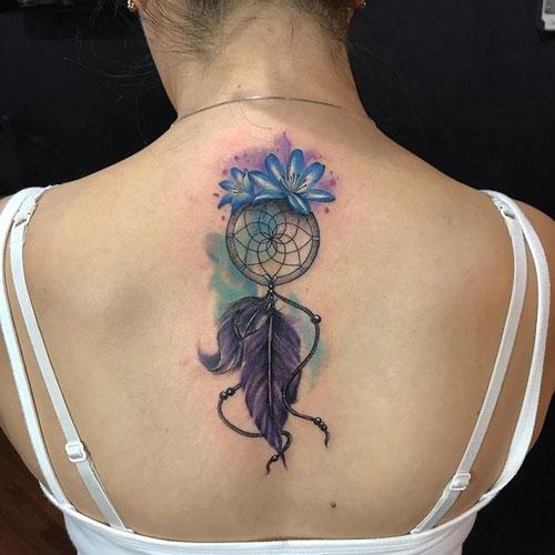 color tattoo atrapasueño