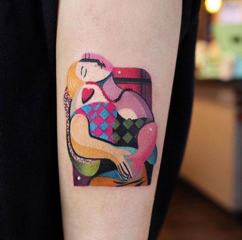el sueño de picasso tatuaje
