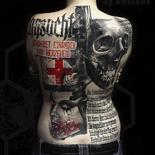 el tatuaje trash polkatattoo