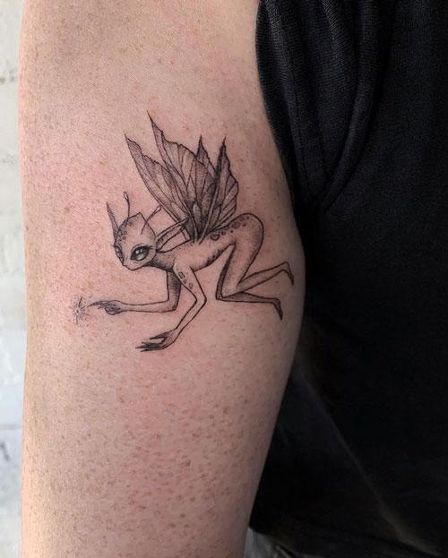 hada alien tatuaje