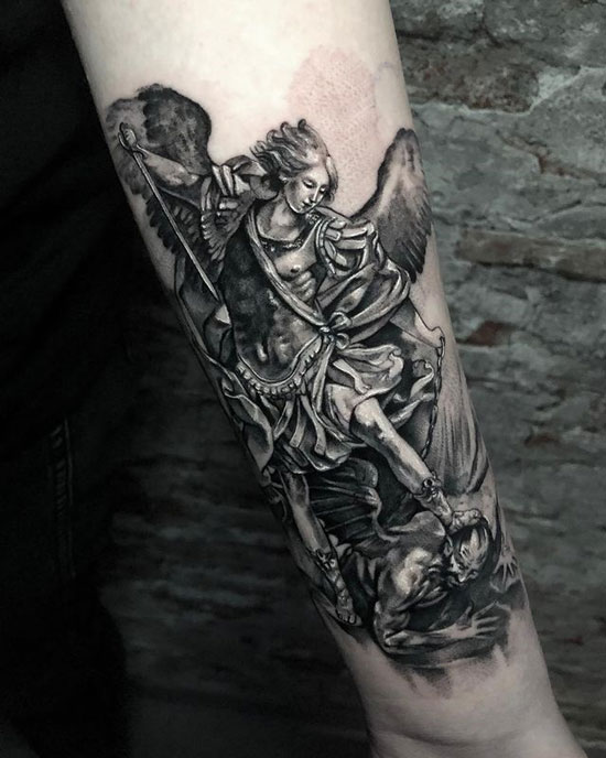 michael arcangel tattoo