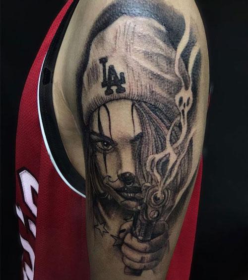 payasa chola tatuajes