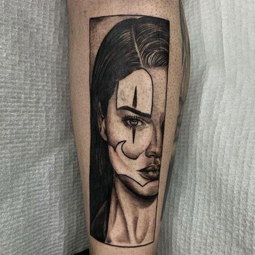 payasa en tatuaje