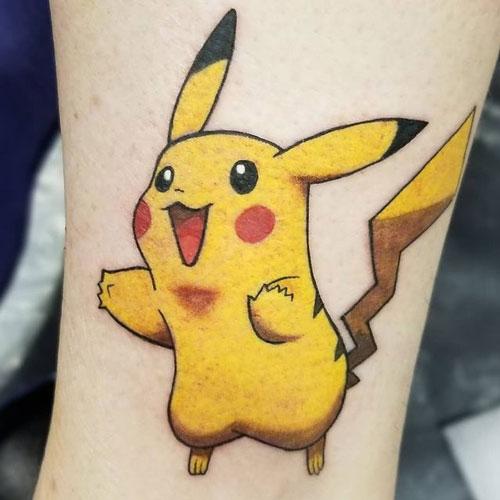 picachu tatuaje