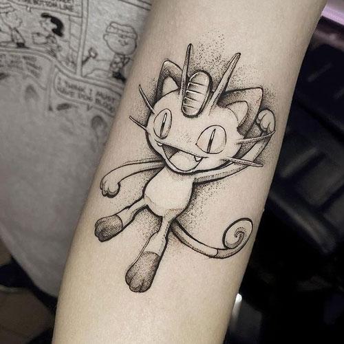 pokemon anime tatuaje