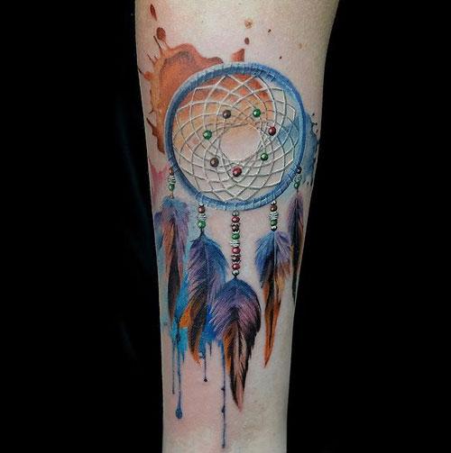 tattoo color atrapasueños