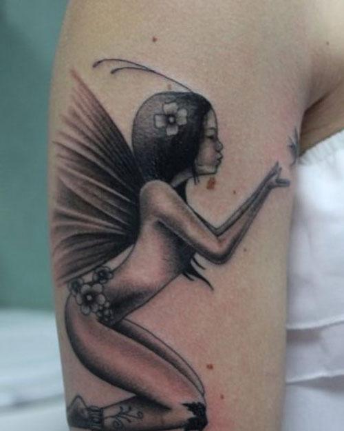 tattoo de una hada