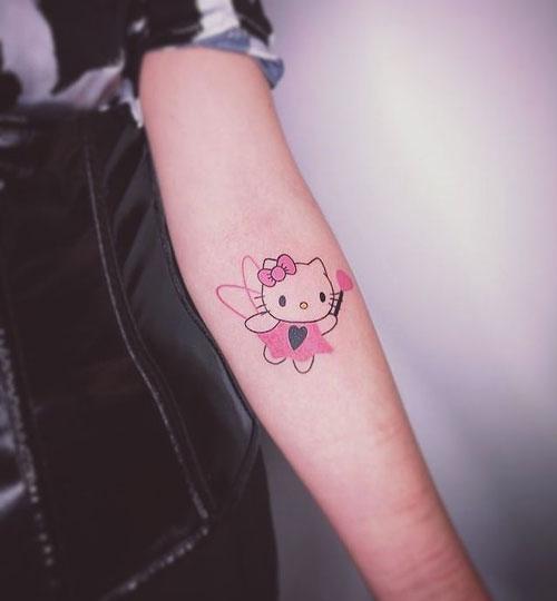 tattoo hello kitty hada