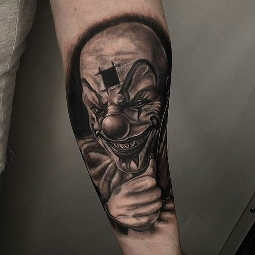 tattoo payaso
