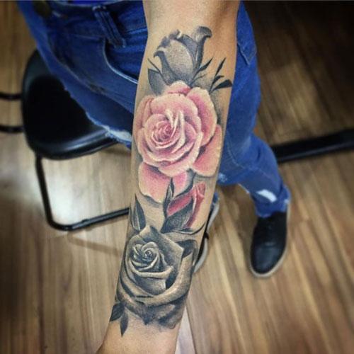 tatu rosas