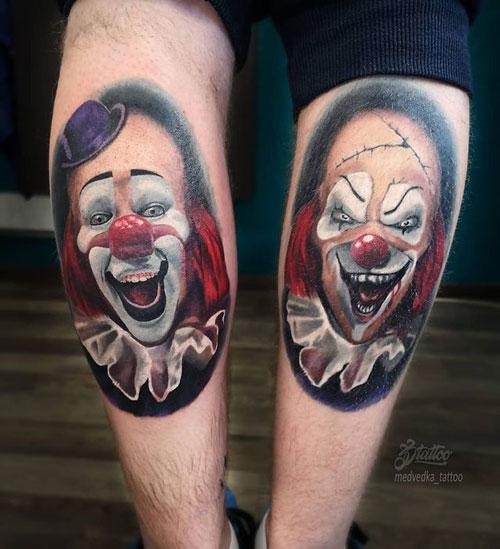 Tatuajes de Payaso