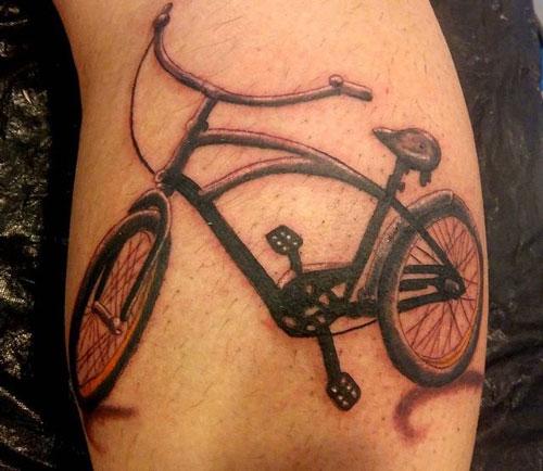 tatuaje bicicleta cross