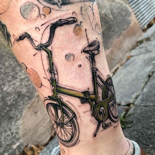 Tatuajes de Bicicleta