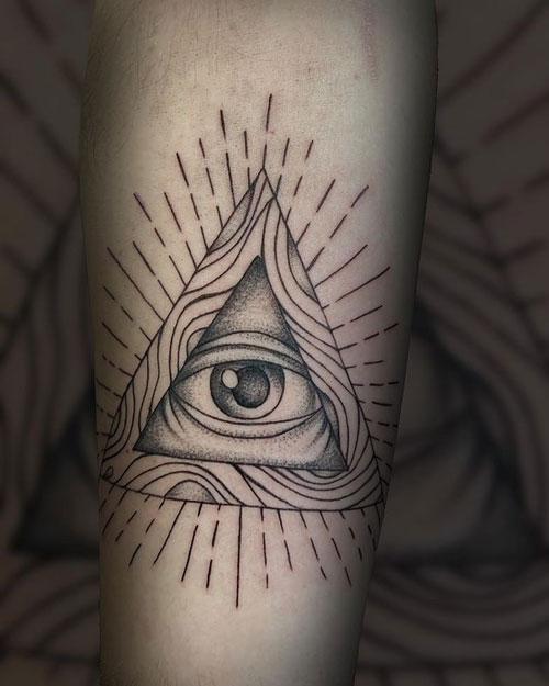 tatuaje de dios