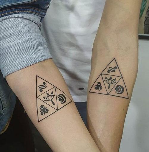 tatuaje de hermanos
